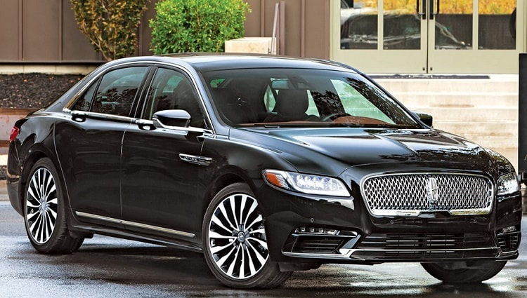 Luxury Lincoln continental sedan  for corporate transportation needs